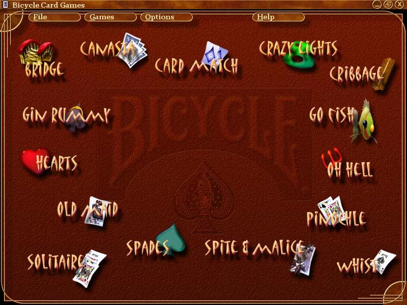 microsoft bicycle card