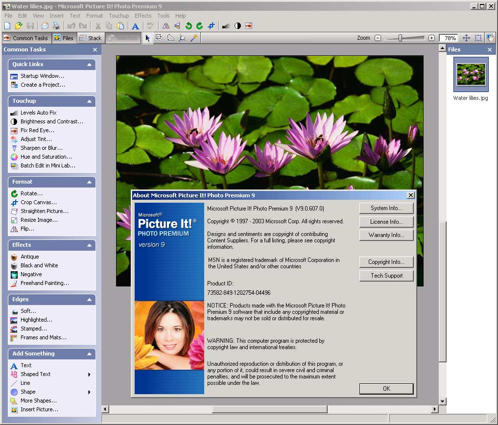 Screenshot of the thai interface and english-japanese bilingual.